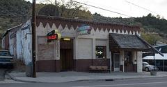 Austin, NV saloon/library (0751)