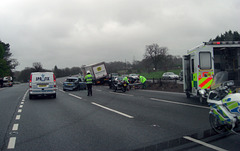 Accident on the A3
