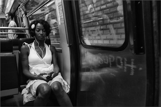 Fleur de métro.