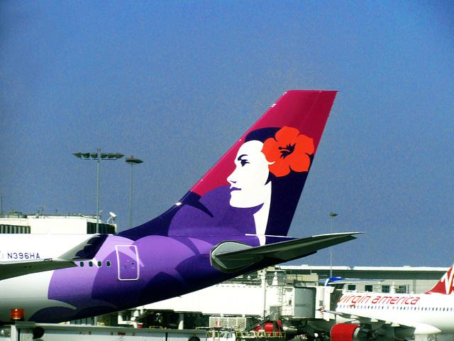 Hawaiian Airlines Jet Tail