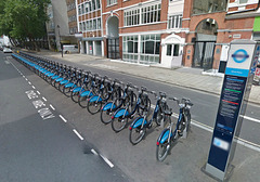 Boris's Bikes in London