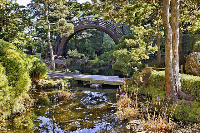 Ipernity The Moon Bridge Japanese Tea Garden Golden Gate Park San Francisco California