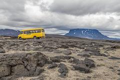On Highland Road F910-Austurleið (PiP)
