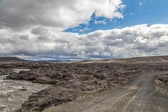 River Kreppá and Austurleið