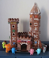 Gingerbread house project 5: Finished