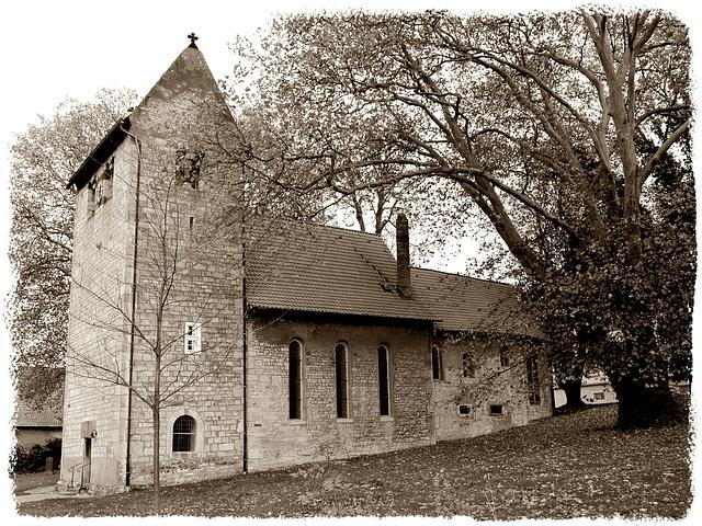 Schräge Kirche