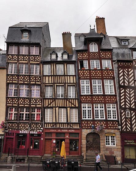 Rennes: l'architecte a paumé le  fil à plomb