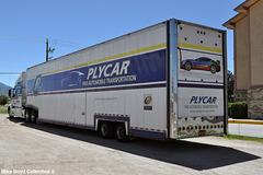 plycar auto transportation volvo vnl780 car carrier kingman az 08'14 02