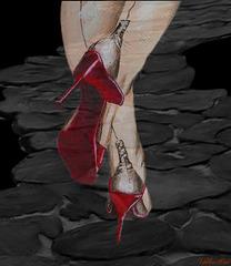 Valeriane /  Une rêve de talons hauts - A high heels dream