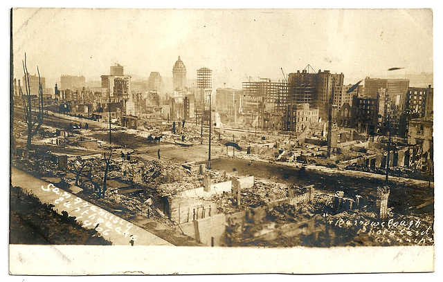 UNT0014 SAN FRANCISCO - 1906 EARTHQUAKE