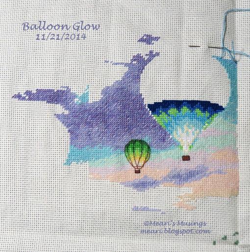 Balloon Glow 11/21/14
