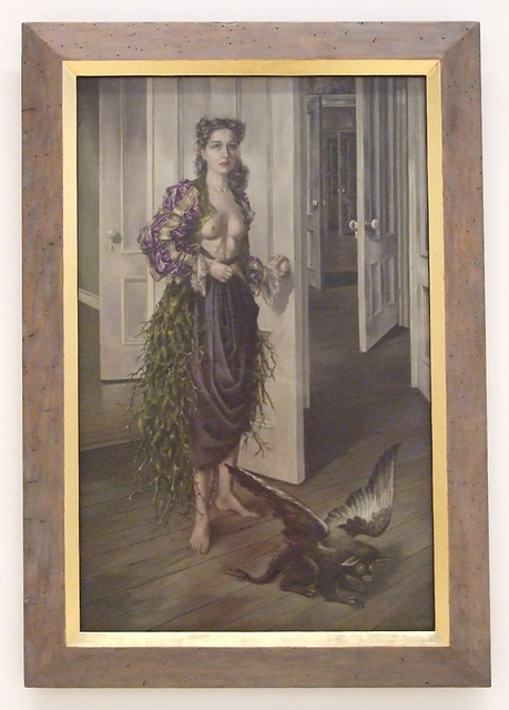 Birthday by Dorothea Tanning in the Philadelphia Museum of Art, August 2009