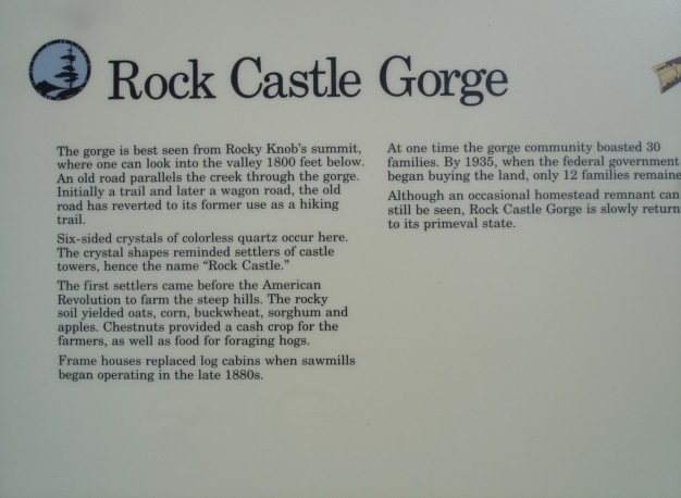 Rock Castle Gorge /Rural life in Appalachia.
