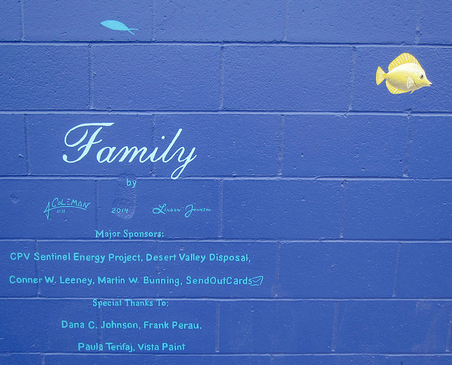 "Orca Mural ""Family"" (2528)"