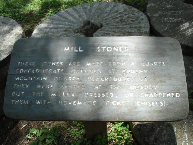 Mill stones/Rural life in Appalachia.