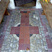 Church of St Laurence, Seale - entrance porch floor