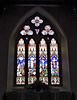 Church of St Laurence, Seale - West wall window