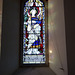 Church of St Laurence, Seale - St Gabriel window to Frederick James Chester