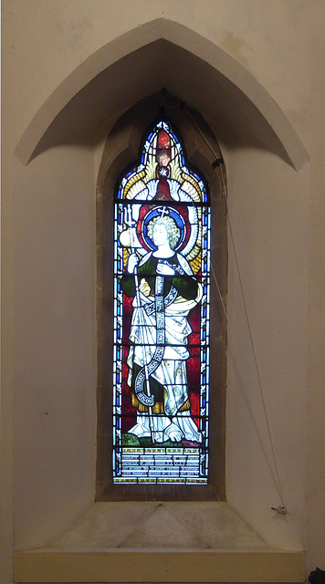 Church of St Laurence, Seale - window