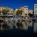 A La Ciotat.....le port , coloré , de pêche............................(on black).