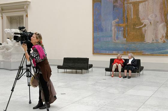 Reportage au musée