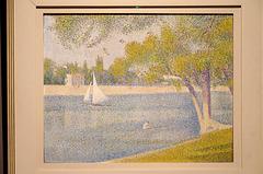 """""""La Seine à la Grande Jatte"""" (Georges Seurat)"""