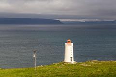 Lighthouse on Vatnsnes peninsula