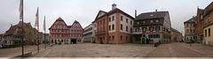 Eppingen - Marktplatz mit Rathaus