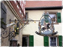 """Nasenschild """"Wirtskeller Sankt Georg"""" (Eppingen)"""