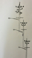 Power Line Drawing #3