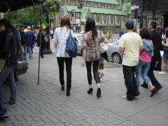 Buffalo heels Ladies / Le duo talons hauts Buffalo.