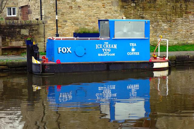 Ice Cream boat.