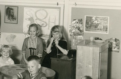 Telephone and Table, Kindergarten Class, Baltimore, Md., 1965-66