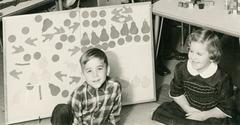 Felt Board, Kindergarten Class, Baltimore, Md., 1965-66