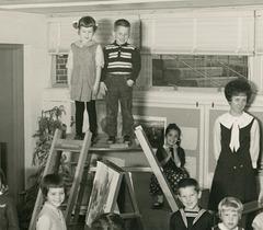 Ladder and Platform, Kindergarten Class, Baltimore, Md., 1965-66