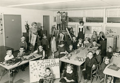 Kindergarten Class, Baltimore, Md., 1965-66