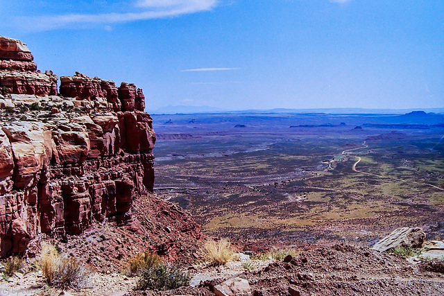 Valley of the Gods from Moki Dugway (150°)
