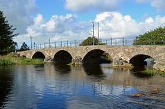 The old road bridge at Brusand