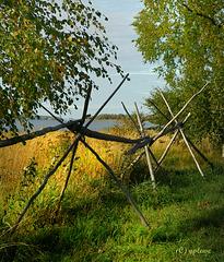 Karelischer Zaun