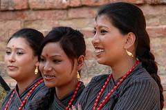 Belles de Patan - Népal