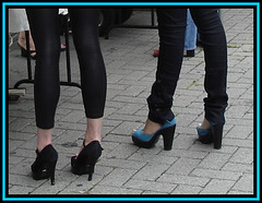 Buffalo heels Ladies / Le duo talons hauts Buffalo.