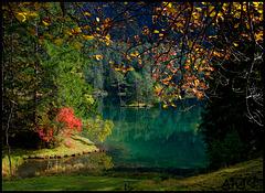 Fernsteinsee im Herbst