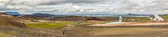 Mývatn Panorama from Námaskarð