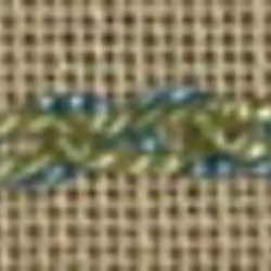 #140 - Threaded Cable Chain stitch