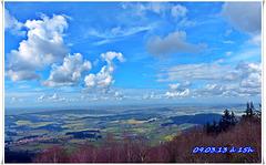 """Vue sur le Charolais / Brionnais et au-delà... """"BLUE PLANET"""""""