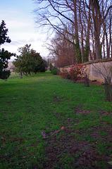 Le parc du château de Vauxrenard