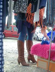 Auf dem Flohmarkt