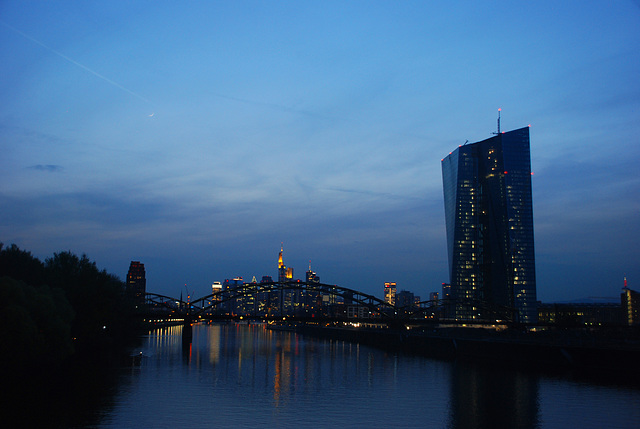 EZB-Neubau Osten von Frankfurt am Main