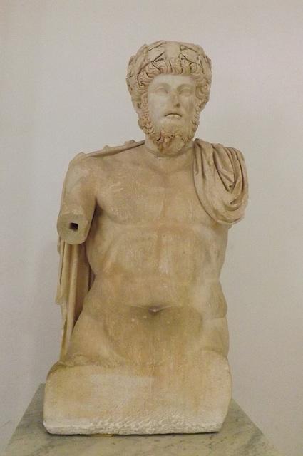 Portrait of Lucius Verus Crowned in the Bardo Museum, June 2014