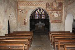 intérieur de la chapelle de Nohant